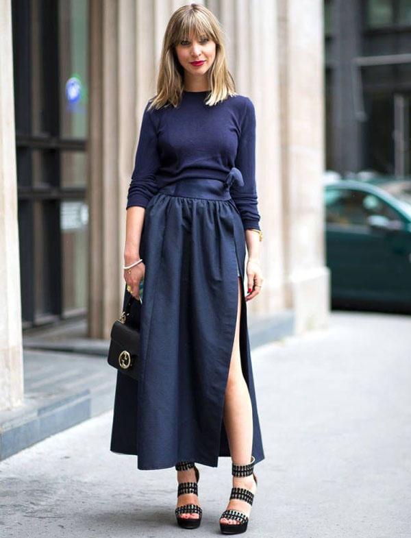 street-style-look-monocromatico-azul