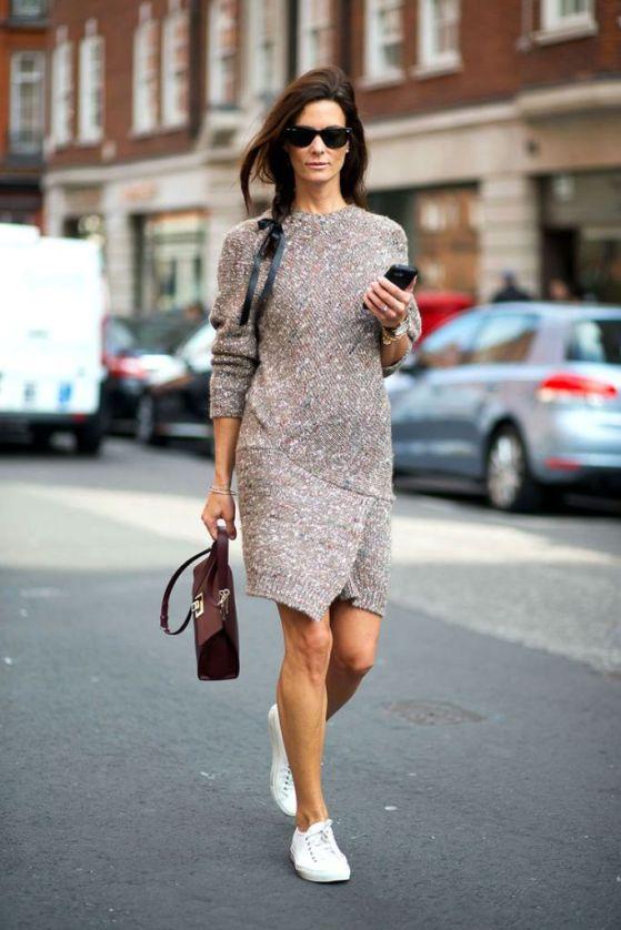 vestido-trico-malha-comtenis-looks-street-style-dress-sneaker-outfit