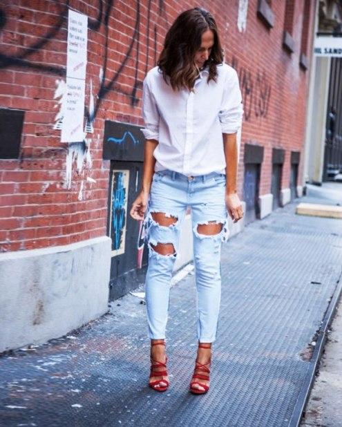 destroyed-jeans-camisa-sandalia-street-style