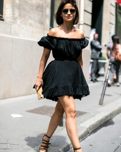 le-fashion-blog-street-style-miroslava-duma-off-the-shoulder-dress-summer-style-via-elle-spain