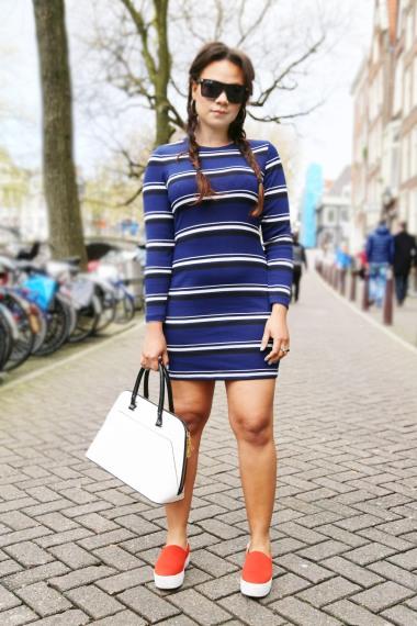 stripes-minidress-street-style