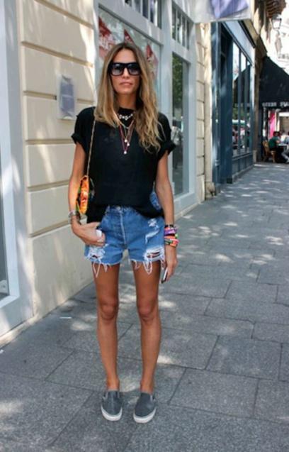 denim-shorts-chic-street-style-looks-5