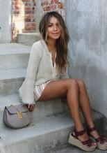 street-style-look-sandalia-flatform-julie-sarinana-blusa-linho-shorts-listrado