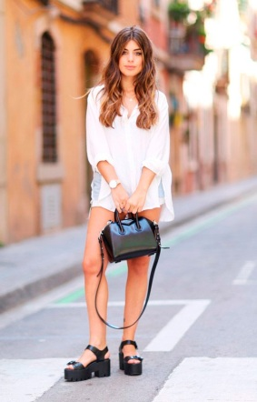 street-style-look-sandalia-tratorada-dulceida-camisa-branca-shorts-jeans-160905-105904
