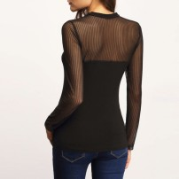 blusa-feminina-preta-com-transparencia-preta-manga-longa-tendencia-outono-inverno