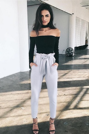 calça-clochard-look-top-bardot-tendencia-verao-street-style-fashion