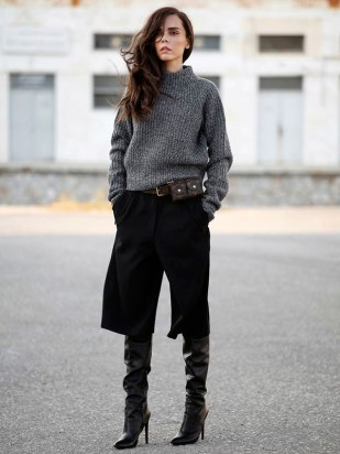 street-style-calca-culotte-com-bota-como-usar-looks-gola-alta-cano-longo