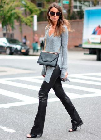 tricot-fenda-cinza-leather-pants-street-style