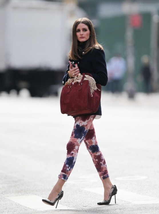 Street-Style-Printed-Denim-Jeans-Olivia-Palermo
