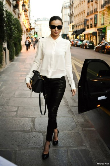 street-style-the-perfect-silk-shirt-miranda-kerr