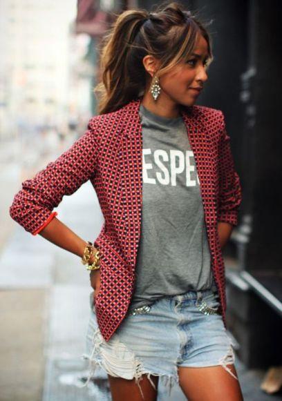 blazer -estampado-short-jeans