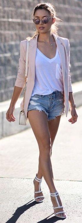 blazer-short-jeans
