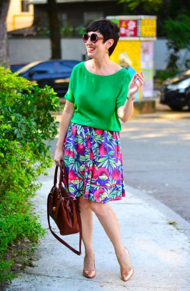 saia-midi-floral-fashion