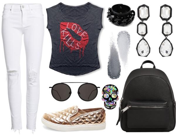 calça-branca-tênis-camiseta-rock