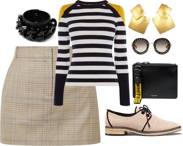 saia-xadrez-fashion-trend-mix