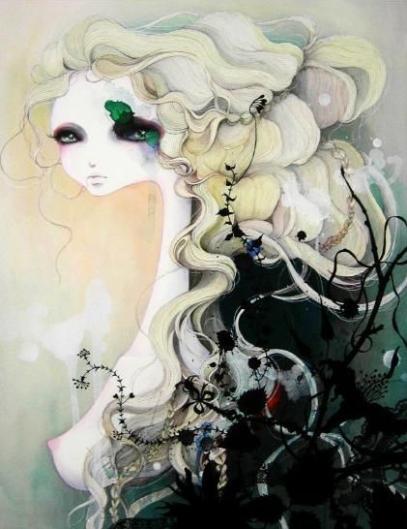mari-kubota-ilustração-feminina