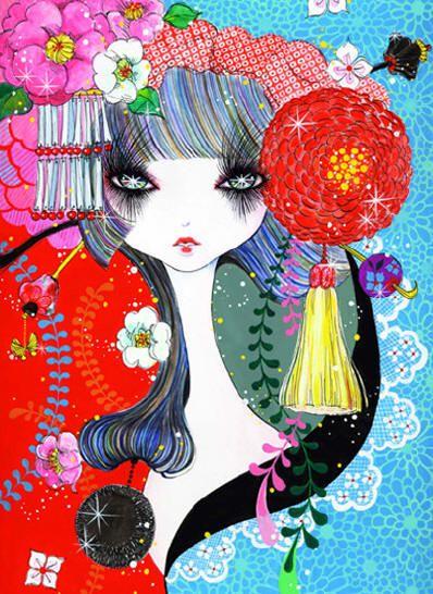 mari-kubota-ilustração-japonesa-feminina