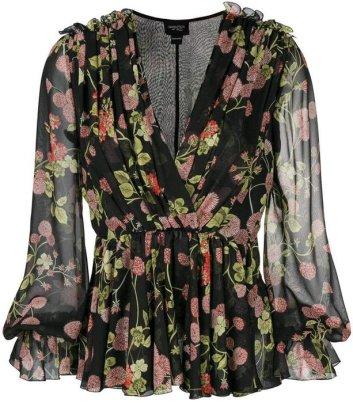blusa-floral-transparência-e-decote-v
