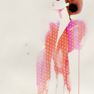 stina-persson-watercolor-ida-sjostedt-polka-dots